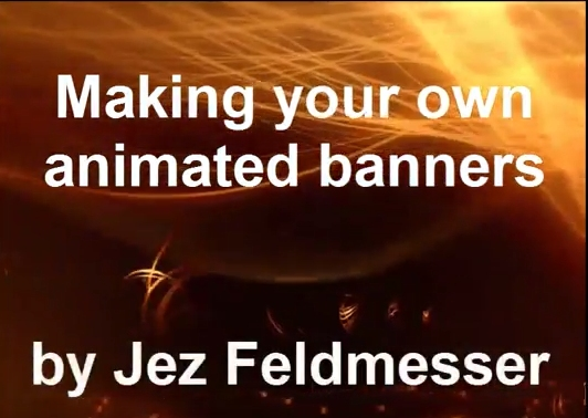 Making your own animated banners